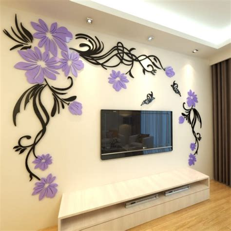 3d wall stickers singapore skyline wall sticker living room background stickers best free home design