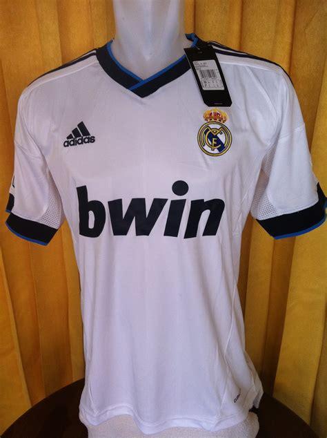 Kaos Bola Original Real Madrid gudang kaos bola jersey kaos bola real madrid home 2012 2013 jersey original