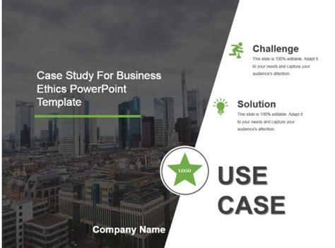 case study  business ethics powerpoint template powerpoint  template