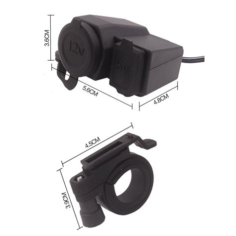 wupp cigarette motor waterproof dengan 12v usb black jakartanotebook