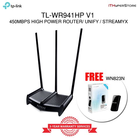 Sale Tp Link Tl Wr 940n 450 Mbps Wireless N Router tp link tl wr941hp high power 450mbps wireless n wifi router