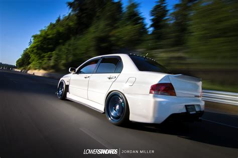 mitsubishi evolution 9 elree s 2006 lancer evolution ix mr lower standardslower