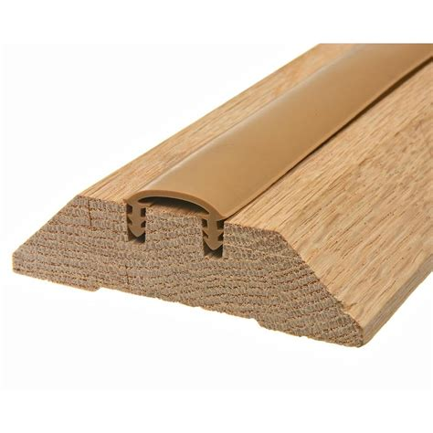 Hardwood Door Thresholds Exterior King E O 3 1 2 In X 36 In Wood Threshold W3636h The Home Depot