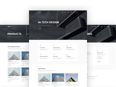 latest html5 website templates part 8 mooxidesign com