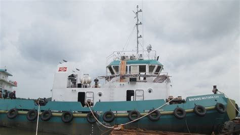 tugboat as jaya 2 kapal ship tugboat bintang mutiara xxv pt usda seroja jaya