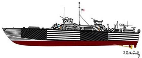 pt boat paint schemes pt boat world drawings of historic pt boats