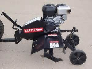 2010 craftsman pull behind tiller lawn mower for sale in