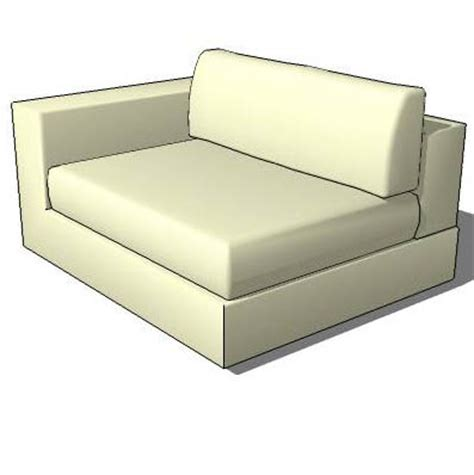 chase couch slope arm sofa 3d model formfonts 3d models textures