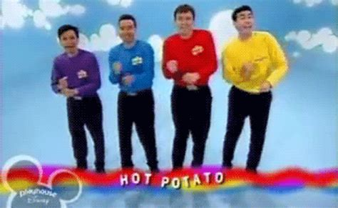 funny hot potato gif hot potato reaction gifs