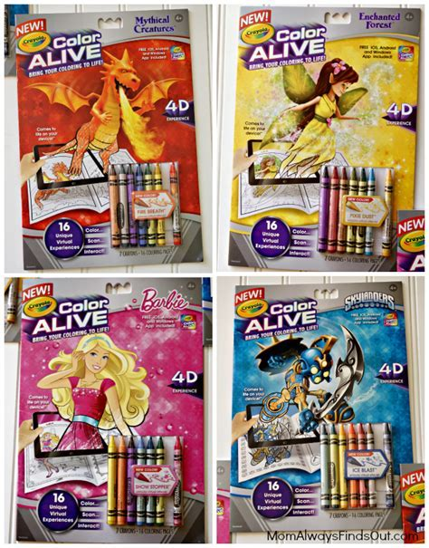 Crayola Color Alive App Brings Kids Coloring Pages To Life