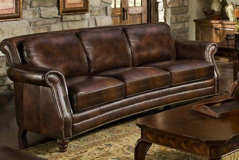 leather and wood sofa leather and wood sofa traditional leather sofa with show