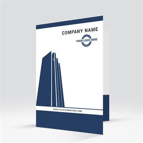 corporate folder template corporate presentation folder folderprinters