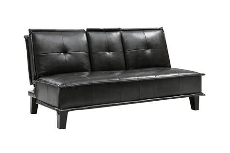 Black Leather Futon by Black Leather Futon 300138