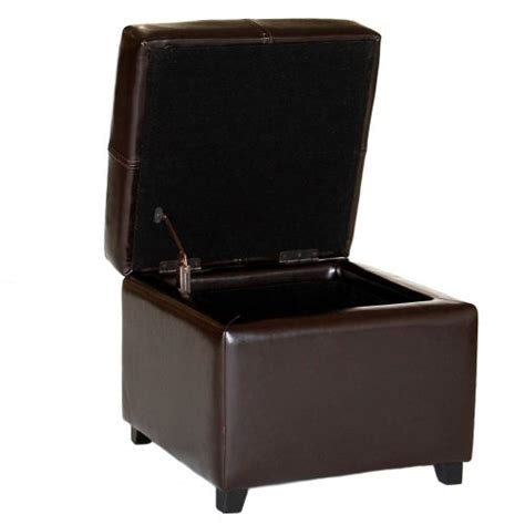 Cheap Ottoman Storage Cheap Ottomans And Footstools Rating Review Baxton Studio Leather Storage Ottoman Espresso Brown
