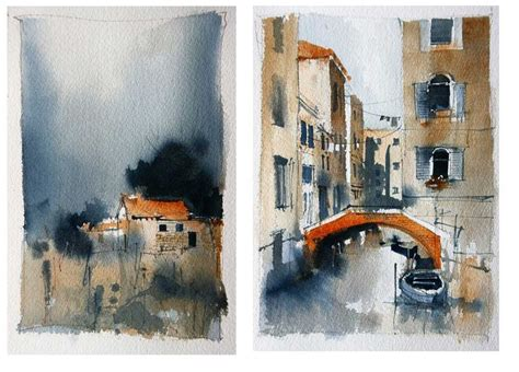 watercolor urban tutorial 127 best images about watercolor urban landscape on