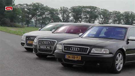 Audi A8 V8t by Audi S8 3 Generations Sound Driving