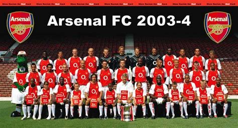 Arsenal Home Season arsenal s 2003 04 unbeaten season from premier league