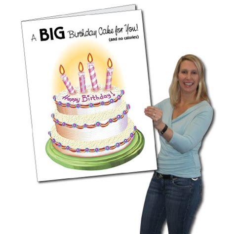 Where Can I Buy A Big Birthday Card 2 X3 Giant Birthday Cake Birthday Card W Envelope In