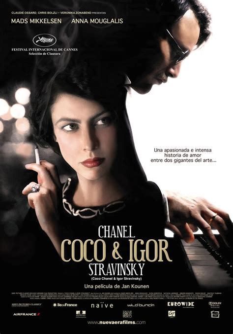 short biography coco chanel chanel and stravinsky
