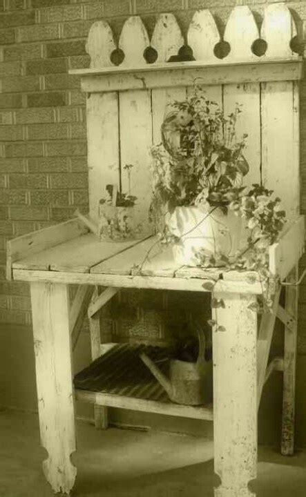 old potting bench 17 best images about potting benches on pinterest