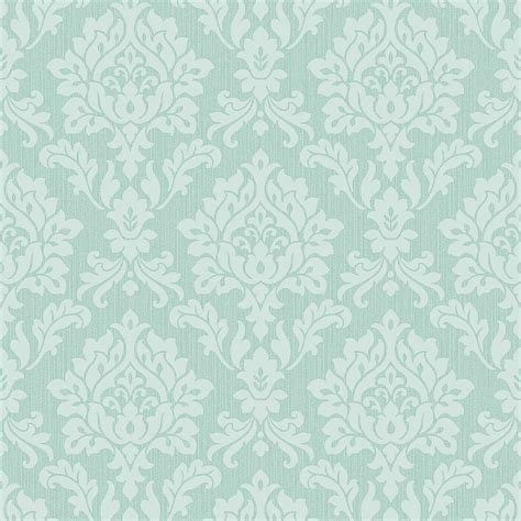 mint green wallpaper uk fine decor burlington damask wallpaper mint fd40624
