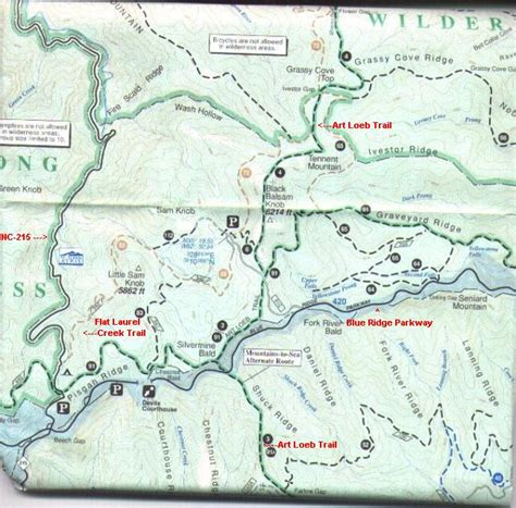 Blue Knob Trail Map by National Geographic Trails Photos Diagrams Topos