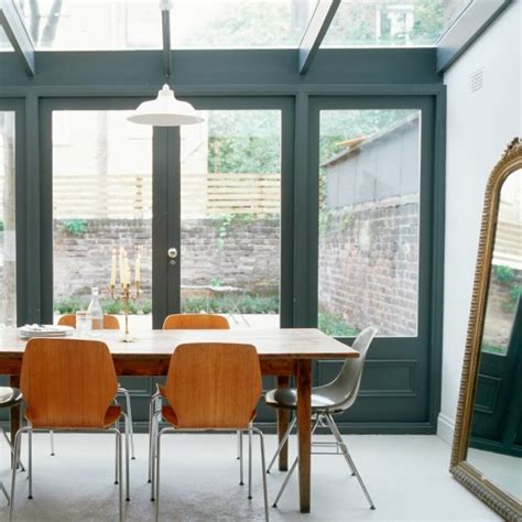 conservatory interior ideas uk modern conservatory with gun metal window frames small
