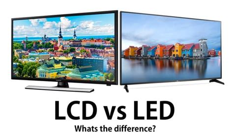 lade lcd the difference between lcd and led tvs geeky gadgets