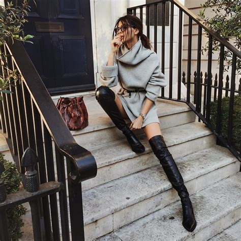 doina ciobanu thigh high leather boots sweet autumn
