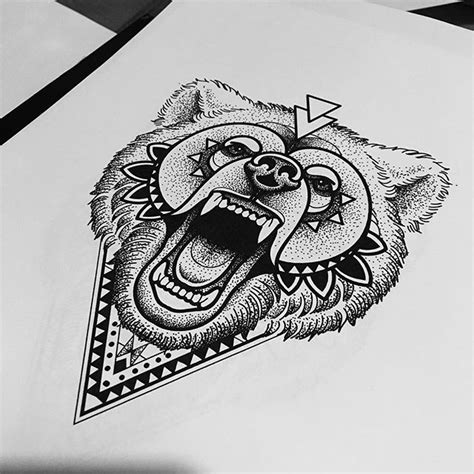 bear stippling on instagram