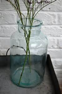 Glass Jar Vases Large Glass Storage Jar Or Vase Lovestruck Interiors
