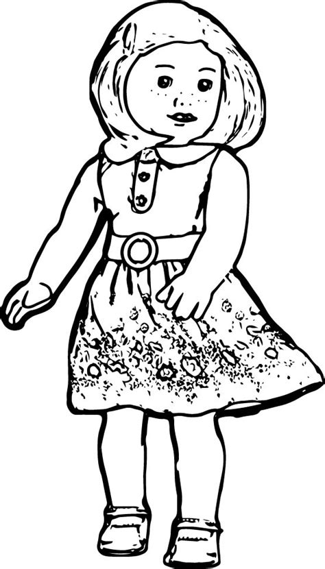 american girl doll coloring pages more information
