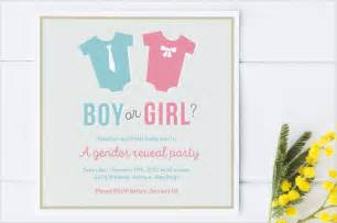 gender reveal invitation templates free amp premium templates
