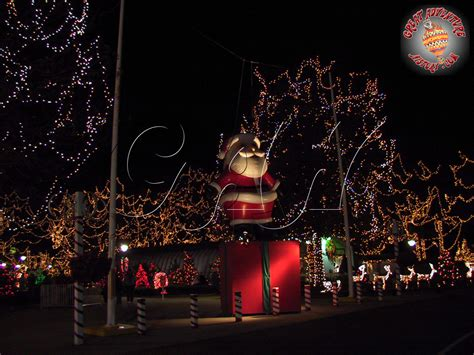 winter lights at six flags great adventure