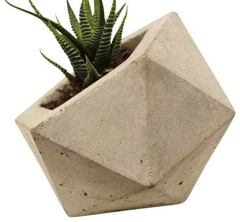 modern planters indoor geodesic planter modern indoor pots and planters by