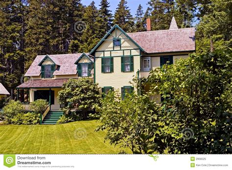 How Big Is A Cottage Large Summer Cottage Royalty Free Stock Photo
