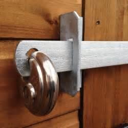 a1 shedbar shed door security bar