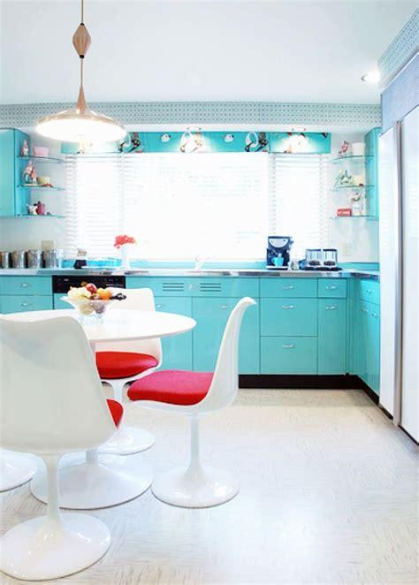 Turquoise Kitchen Decor by 24 Mid Century Modern Interior Decor Ideas Turquoise Kitchen