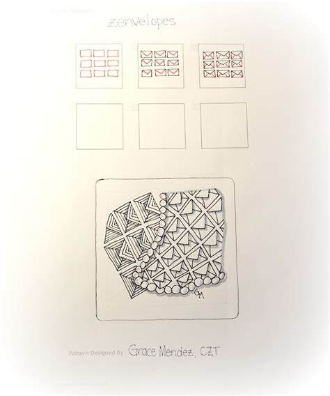 zentangle pattern list zenvelopes a new tangle to add to your zentangle list of