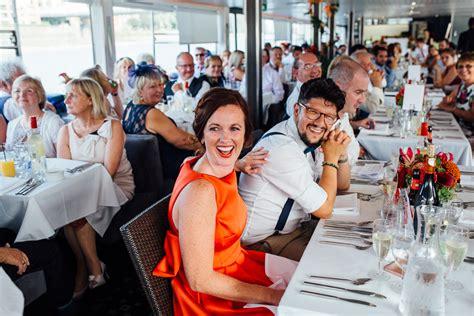 party boat kent chloe and doug s islington town hall thames boat wedding