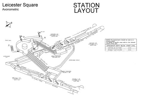 Mansion Layouts 3d Maps Of Every Underground Station Hijklm Ianvisits