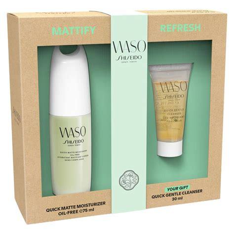 The Detox Now Gift by Shiseido Waso The Detox Skincare Gift Set Bluewater 163 32 00