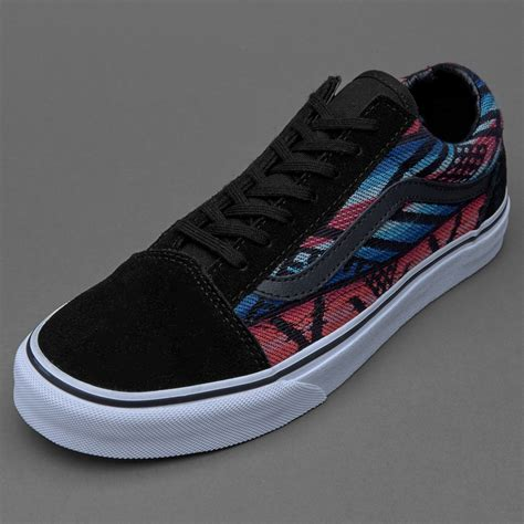 Sepatu Vans Patta Original Sepatu Sneakers Vans Womens Skool Moroccan Geo Black