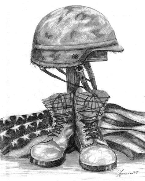 soldier crosses pictures pics images soldiers cross remember the fallen drawing by j ferwerda