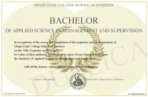 Is Mba Applied Degree by Bachelor Of Applied Science In Management And Supervision