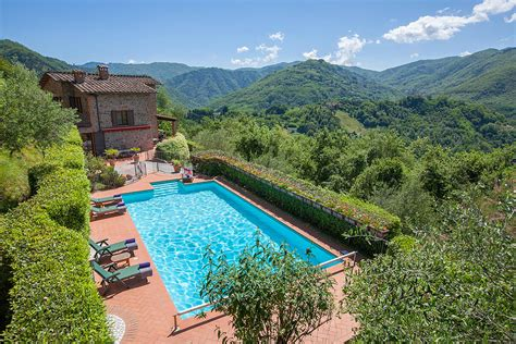 piscina bagni di lucca villa villa in tuscany italy sleeps 10 le