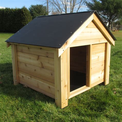 cedar dog houses infinitecedar the ultimate dog house reviews wayfair