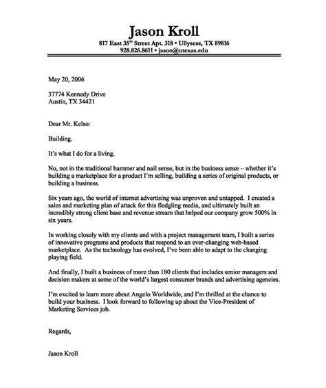 how to write a cover letter opening statement 28 images