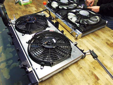 aluminum fan shroud fabrication mishimoto 2015 subaru wrx performance aluminum radiator