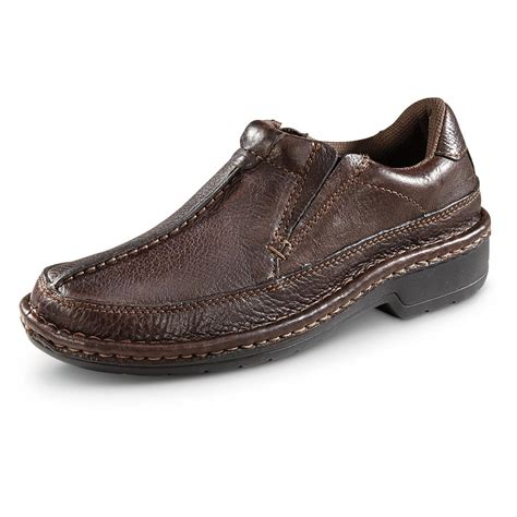 oxford slip on shoes roper s opanka oxford slip on shoes brown 656046